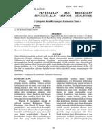 Identifikasi Penyebaran Dan Ketebalan Batubara Menggunakan Metode Geolistrik Resistivitas