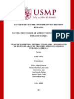 Plan de Marketing de Hojuelas para exportacion