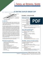 Grating coupler sensor ship - OW2400 8x12