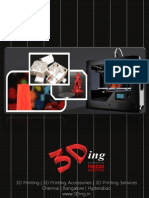 3D Printers Brochure