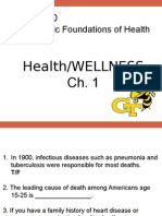 Wellness powerpoint for health