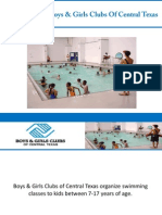 Swim Team At Boys & Girls Clubs Of Central Texas