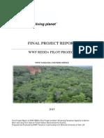 WWF - REDD+ Final Project Report - 10th April 2015