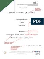 Ejemplo Formato Reporte