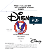 Disney Stratman Strategic Management