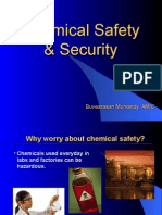 Chemical Safety and Security