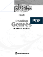 Reading Genres - A Study Guide Grade 1