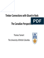 Tannert - The Canadian Perspective on Glued-In Rods