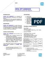 SFT Adhesive - Technical Information