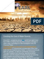 Pearl Waterless Car Wash - Counting the Cost of Water Scarcity