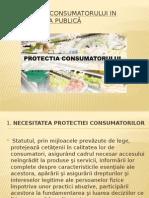 Protecția Consumatorului in Alimentația Publică