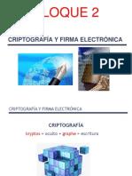 Firmae Bloque 2 Criptografía