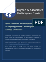 Dyman & Associates Risk Management Projects - US-Regierung gewährt $3 Millionen gegen zukünftige Cyberattacken