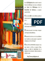 Cartell La Meva Biblioteca