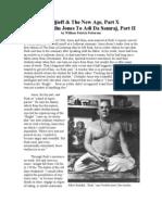 Gurdjieff & The New Age, Part X From Franklin Jones To Adi Da Samraj, Part II