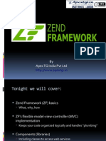 What is PHP Zend Framework - Tutorial 1