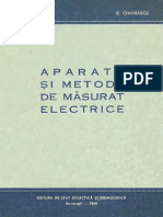 Aparate Si Metode de Masurat Electrice