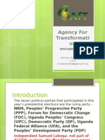 A Review of Political Party Proposals for Agriculture Policy Reform in Uganda