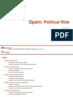 Spain - Political Risk Update