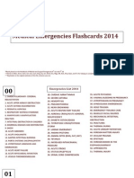 Emergencies Flashcards 2014