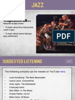 Jazz Presentation