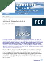 Los Hijos de Dios en Genesis