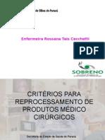 Criterios Esterilizacao Enf Rossana