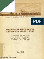 Guerra de liberación Española 1938-1939