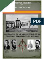 Laureados en el Cementerio de La Purisima Melilla