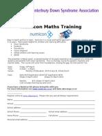 Numicon Maths Training