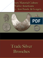 Native Americans - Trade Jewelry, Arm Bands, Gorgets