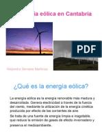 La Energía Eólica en Cantabria