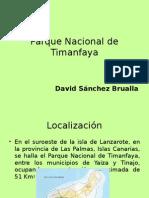 Parque Nacional Timanfaya David Sánchez Brualla