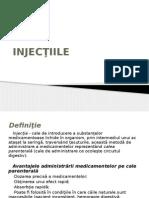 injectiile  & sondaj