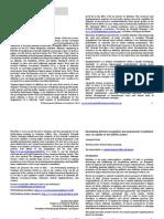 Annals of Delirium Volume 14 Oct 2014