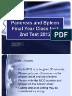Mcqs Pancreas n Spleen