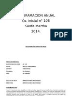 Programacion Anual 2015
