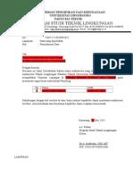 Surat Ijin Plambing