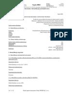 Karta charakterystyki Septa DRE