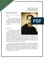 Ficha Del Filósofo. EDMUND