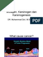 Kuliah Karsinogenesis