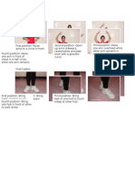 other hand and feet positions