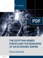 The Egyptian Armed Forces and the Remaking of an Economic Empire