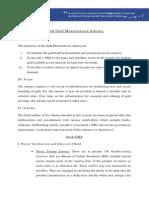 Draft Gold Monetization Scheme
