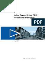 AR System 7.6.03 Compatibility Matrix v1.0_2