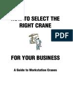 Select the Right Crane for Your Business ewfwekfmk wekvmwek