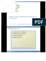 Module 5 Forefront TMG Design and Deployment Considerations