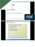 Module 2 Secure Web Gateway