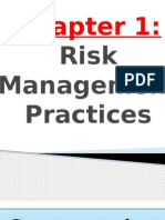 Riskmanagement Chapter 1