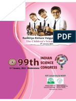 99th Indian Science Congress(Bhubaneshwar)
